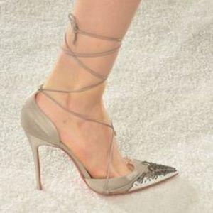 Christian Louboutin x Marchesa SS14 Show Sandal